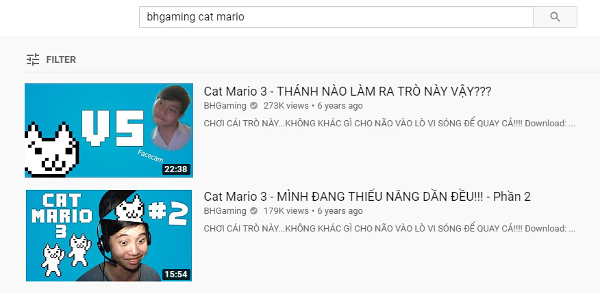 BHGaming Cat Mario