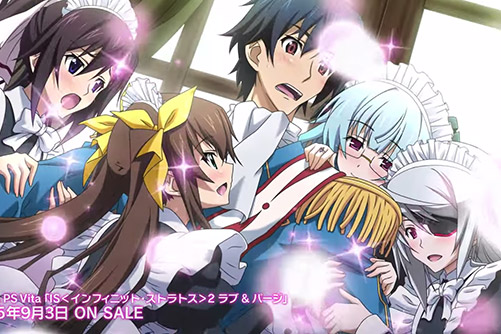 Infinite Stratos 2: Love and Purge ra mắt trailer